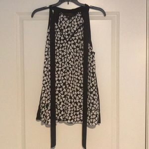 Tops - NWOT Alice through the look glass inspired tank